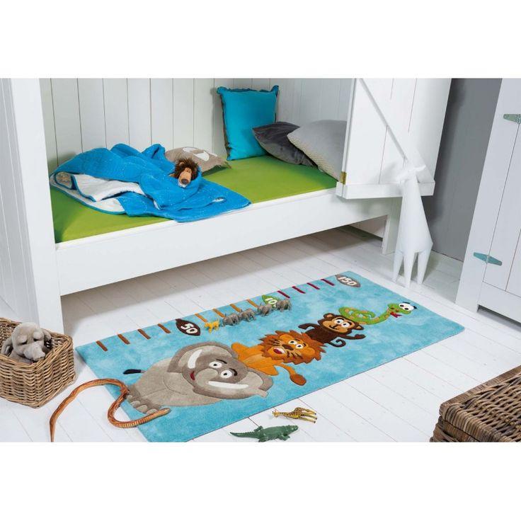 Tapis bleu pour chambre de garçon Kids Koc Arte Espina http://www.allotapis.com/tapis-enfant/3251-tapis-bleu-pour-chambre-de-garcon-kids-koc-arte-espina.html