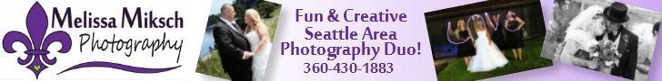 Melissa Miksch Photography - Fun and Creative Seattle Area Weddi