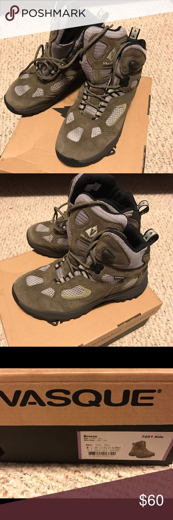 Brand New Boys Hiking Boots Brand new and never used hiking boots. Vasque Shoes Boots