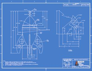 Masa Rocket Blueprint Blue 889k Pdf Blueprint