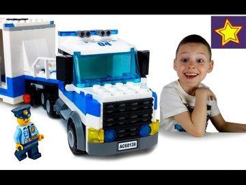 Машинки Полицейские LEGO City Полиция 60139 Мобильный командный центр + конкурс! http://video-kid.com/21527-mashinki-policeiskie-lego-city-policija-60139-mobilnyi-komandnyi-centr-konkurs.html  Привет, ребята! В этой серии Игорюша открывает и собирает набор LEGO City Полиция 60139. В набор входят: Полицейский грузовик с фургоном, полицейский мотоцикл, квадроцикл, минифигурки полицейских, воришек с рюкзаком денег и собака. Устраиваем погоню и ловим воришек.Ссылка на конкурс  Увлекательные…