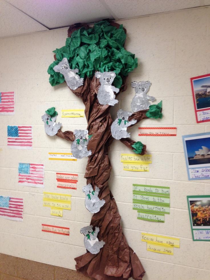 3d Tree Door Decoration