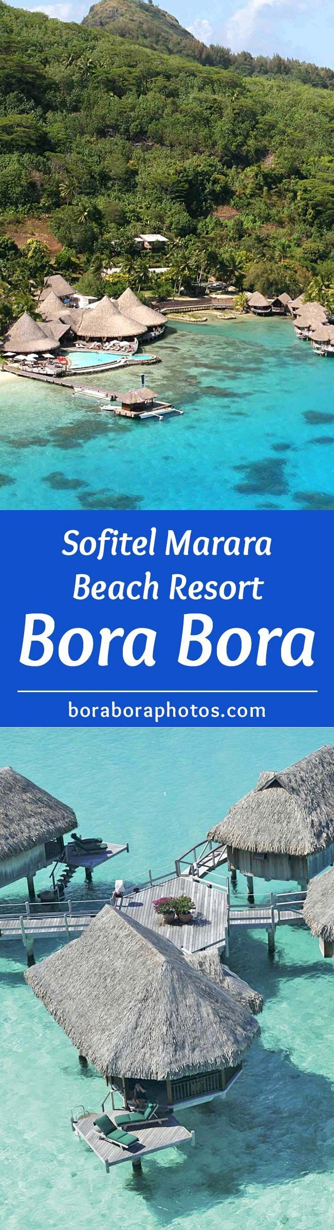 Sofitel Marara Beach Resort - Nestled on a private white sand beach on the edge of one of the most beautiful lagoons in the world, This Bora Bora island hotel is surrounded by exceptional views that draws honeymooners and those looking for the ultimate vacation in paradise.