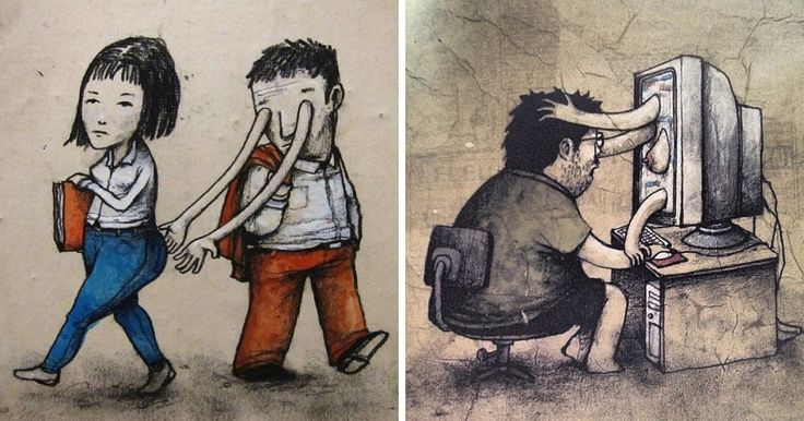 Controversial Illustrations By Dran That Will Make You Think | Bored Panda