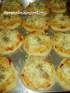 Apressados: Massa de pizza - Faça e Venda