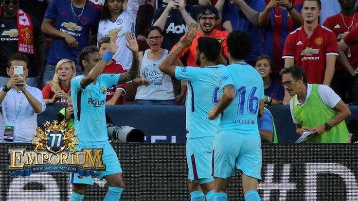 Manchester United Tunduk Lewat Satu Gol Dari Barcelona