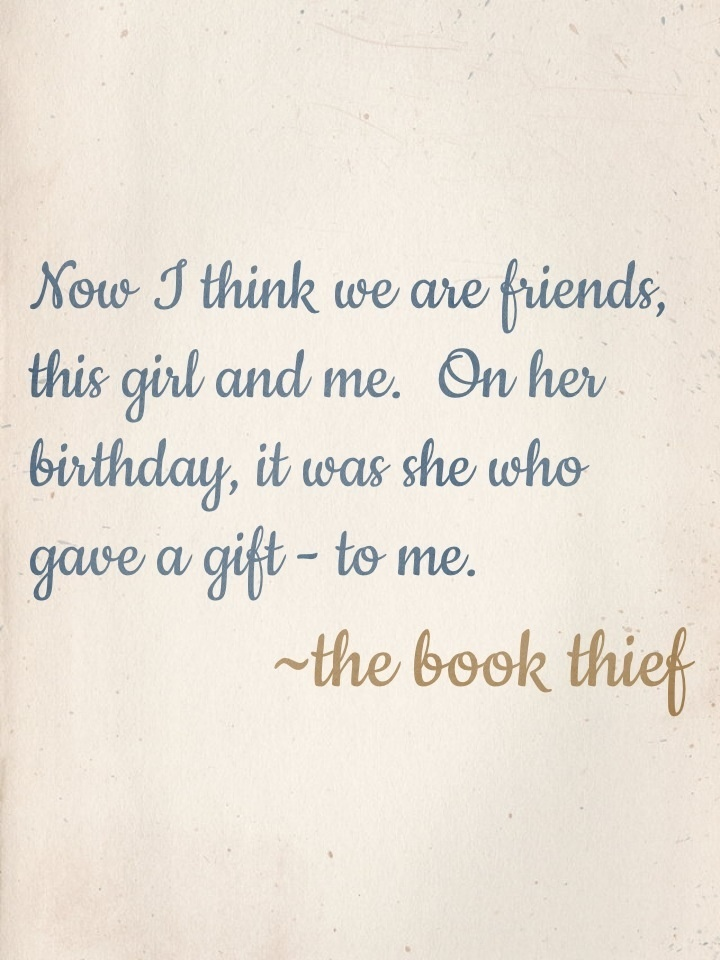 the book thief liesel and hans relationship quotes
