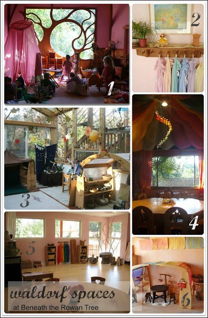 Beneath the Rowan Tree: Inspired Waldorf Spaces :: Classroom Elements to Add to Your Home