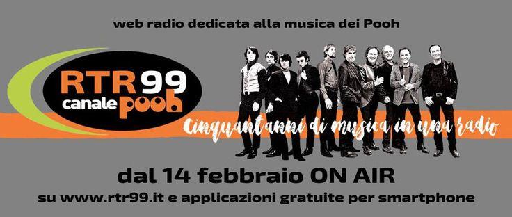 Una buona notizia per tutti coloro che già sentono la mancanza della più longeva band italiana: a partire dal 14 febbraio prenderà vita RTR 99 Canale Pooh, una radio interamente dedicata ai Pooh, a…