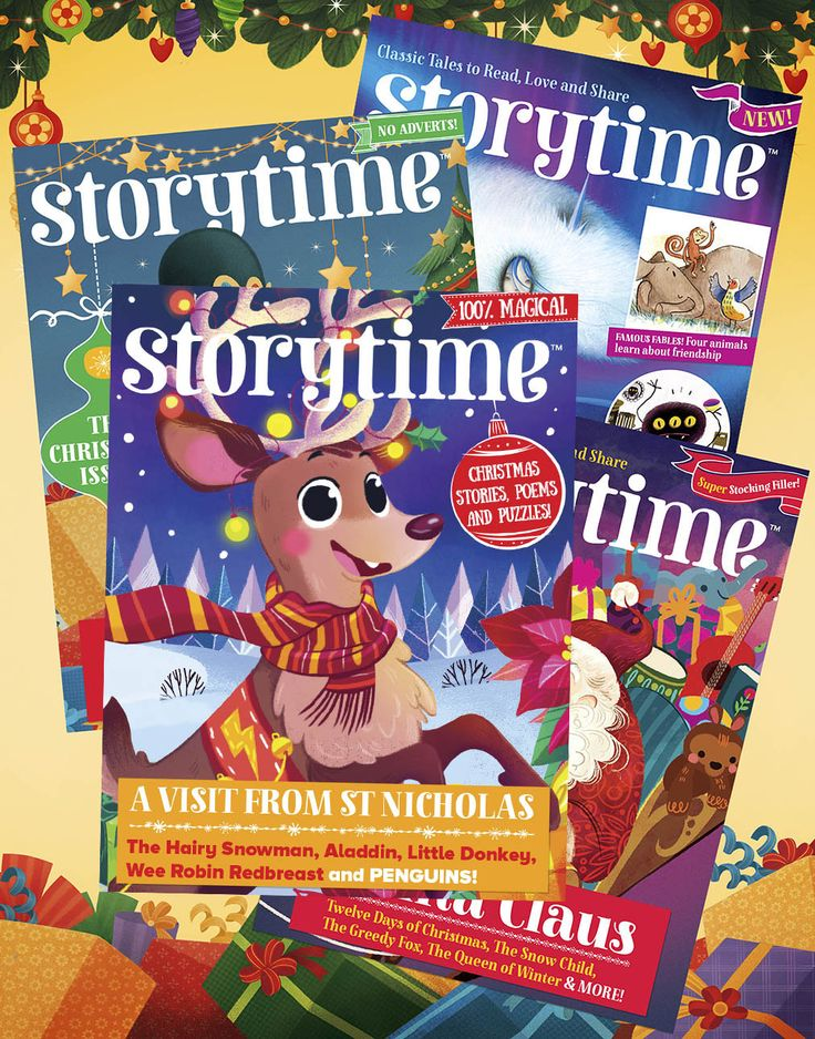 Buy a bundle of Storytime Christmas issues from our shop – for a limited time only! Visit http://www.storytimemagazine.com/shop