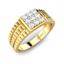 Sanjit Diamond Ring More at http://www.candere.com/jewellery/mens-diamond-rings.html