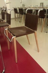 chair funcionalistic design, photo from post on travel blog Czech Menu