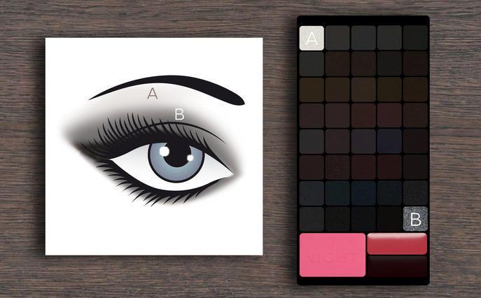 Palette Like a Pro : les tutos Night | Nocibe Inside