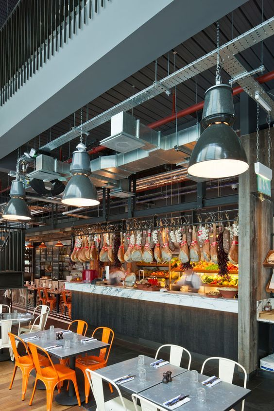 Best images about meat seafood grocery decor