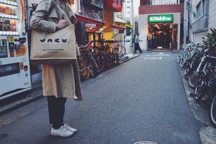 #japan #travel #bag #jacu #jacucoffeeroastery #city #fukuoka