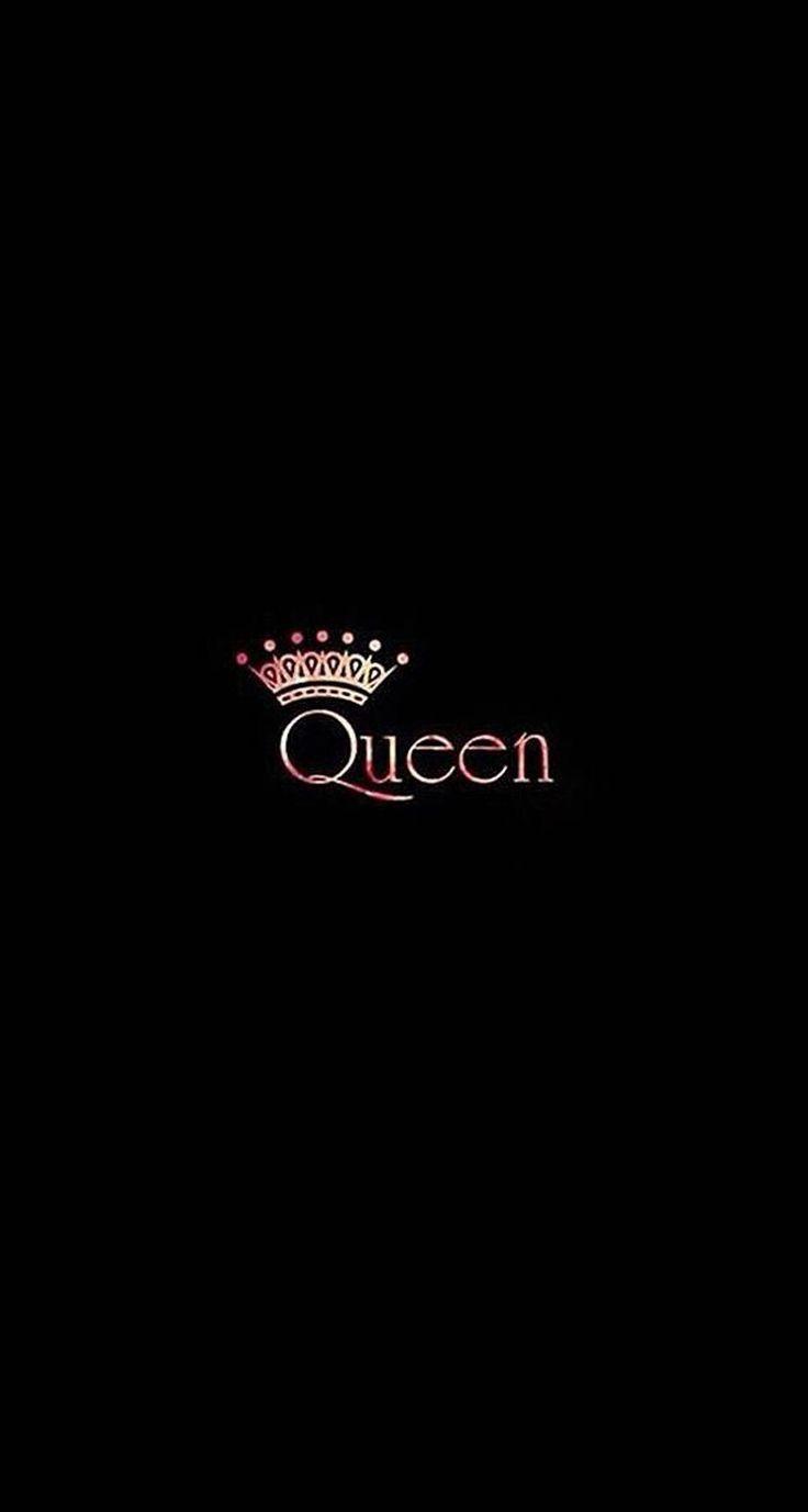 Black rose gold queen crown iphone wallpaper phone