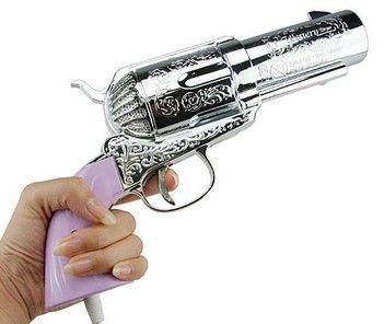 Pistol Hair Dryer <3