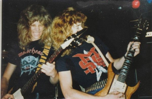 James Hetfield and Dave Mustaine on the early days of Metallica