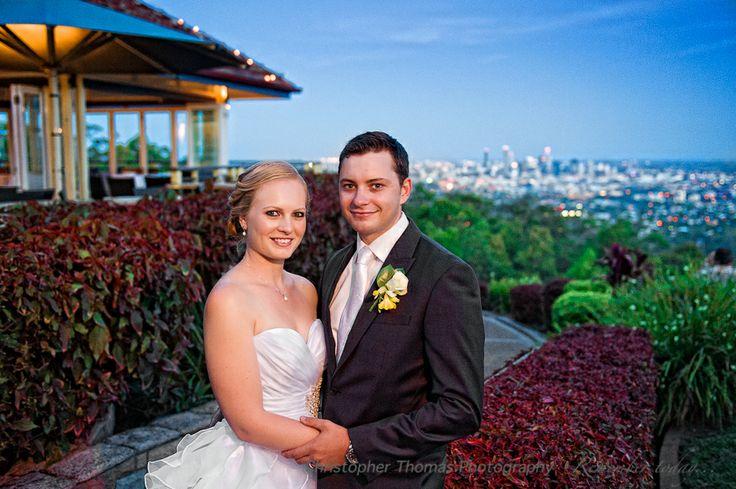 Brisbane Wedding Photographers, Summit Restaurant, Mt Coot-tha Lookout Brisbane, Christopher Thomas Photography