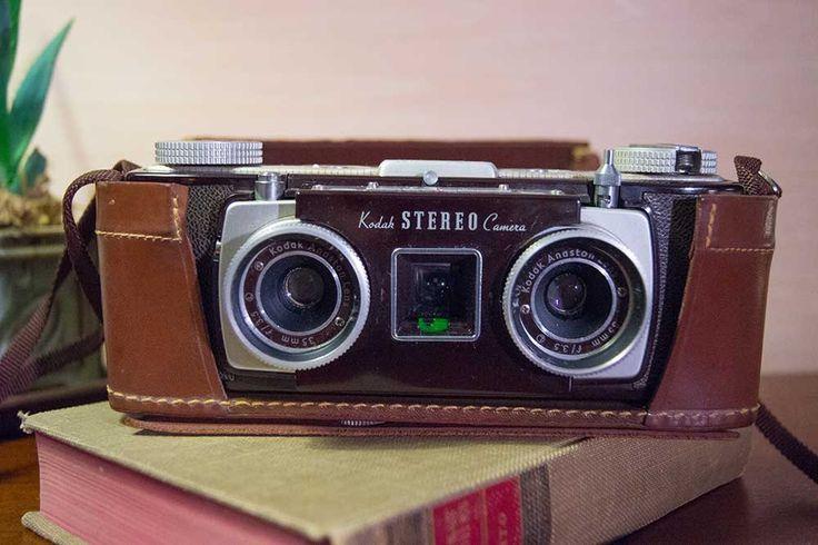 Kodak Stereo Camera circa 1954 by ArcaneObjects on Etsy