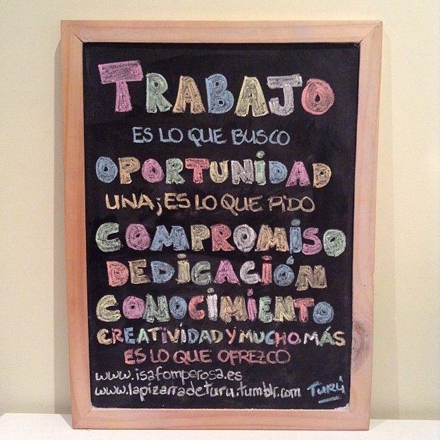 Es sencillo, solamente quiero trabajar. #trabajo #Cantabria #turismo #redessociales #rrpp #eventos #oportunidad