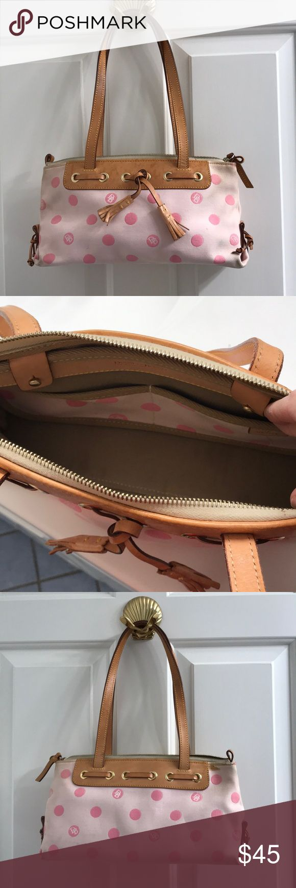 Dooney & Bourke authentic pink shoulder bag Dooney & Bourke authentic pink shoulder bag Dooney & Bourke Bags Shoulder Bags