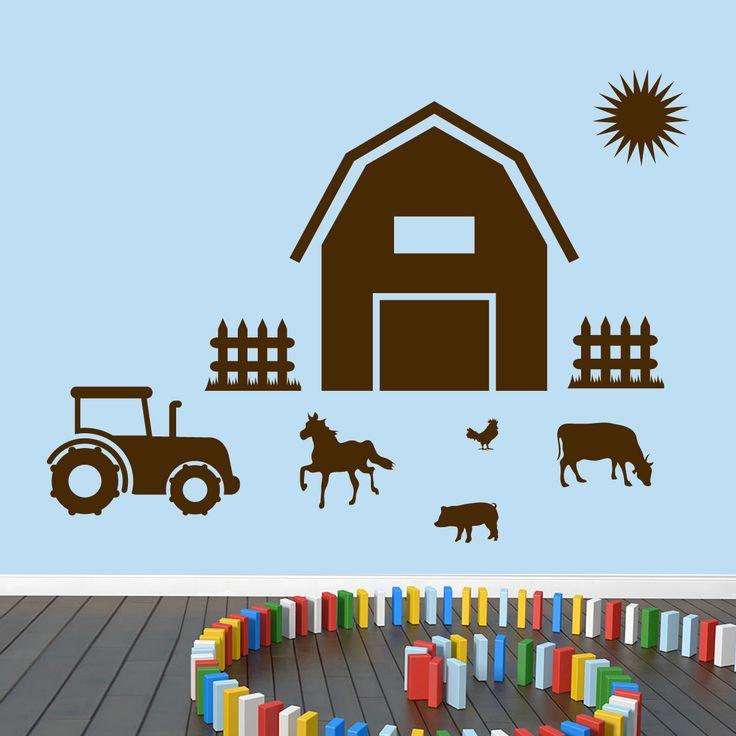 Farm Wall Decals Wall Decor Stickers