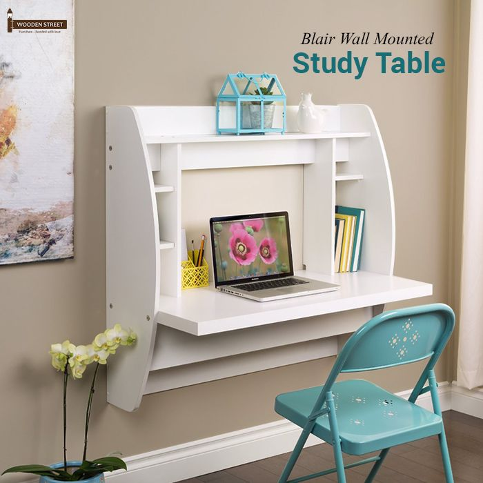 Lovely Prepac Floating Writing Desk With Storage