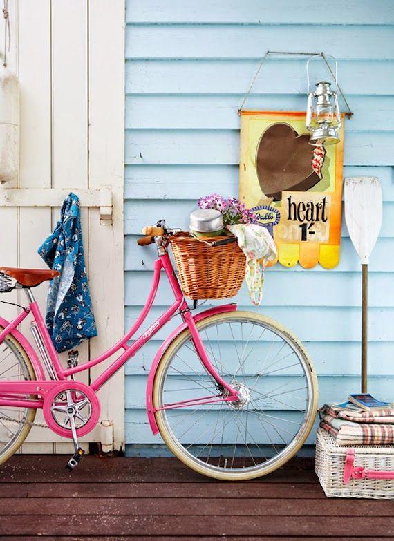 bicis y decoración