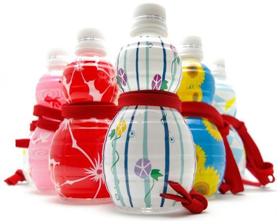 Natural Mineral Water / ひょうたんから水 夏パッケージ