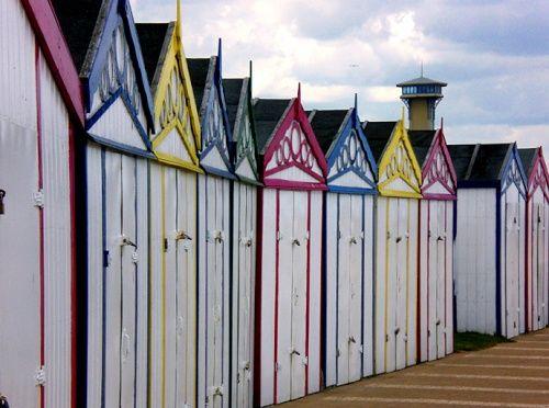 Great Yarmouth beach huts