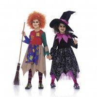 2426 Häxa SyDax.se Burda Kids Svårighetsgrad: 1 Lätt Sy egna maskerad och Halloween kläder som blir personliga och i bättre material. Mönster i olika varianter.