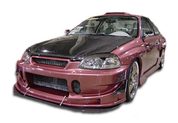 Duraflex 99-00 Honda Civic Buddy Front Bumper Cover Kit