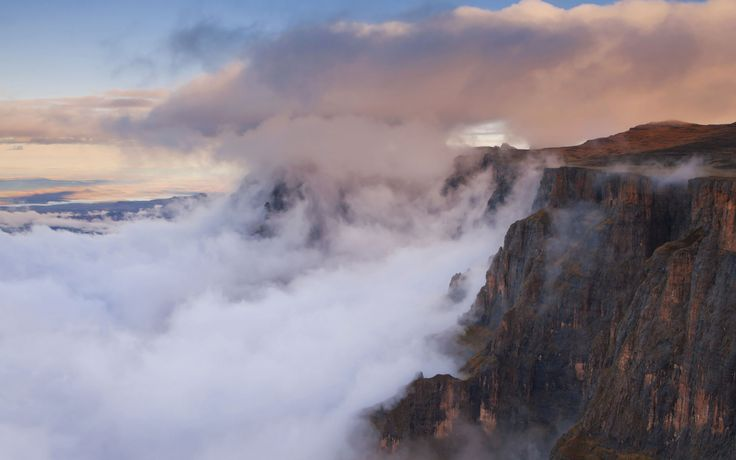 The Drakensburg, South Africa.