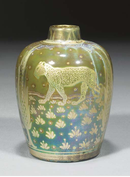 Pilkington's Royal Lancastrian vase decorated by Richard Joyce (1913)