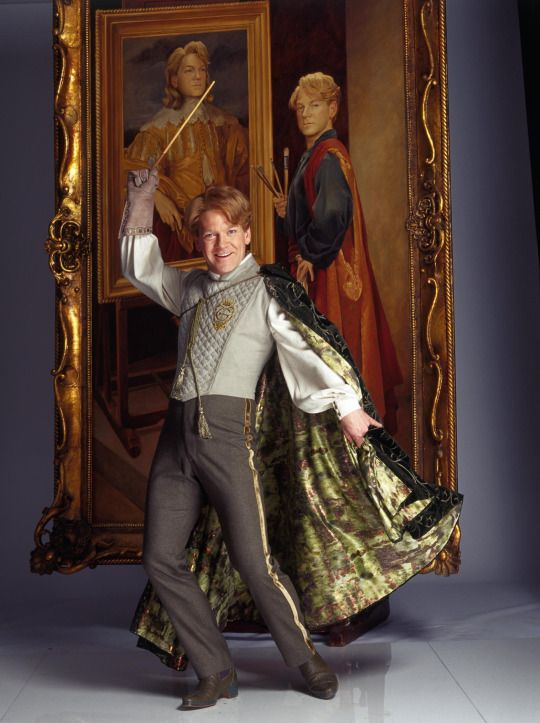 HQ stills of Kenneth Branagh as Gilderoy Lockhart (Harry Potter and the Chamber of Secrets (2002)