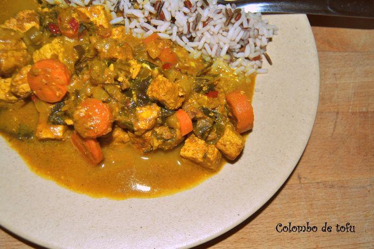 Colombo de tofu
