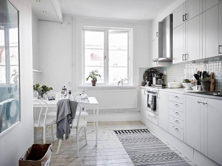 56 best Cocinas images on Pinterest   Kitchen ideas, Kitchen white ...