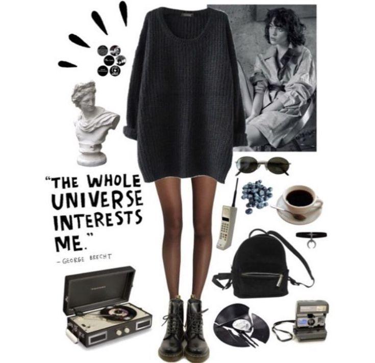 Grunge 90s outfits #grungeoutfits #women'sfashiongrunge