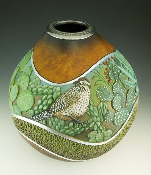 by Bonnie Gibson, Arizona Gourds