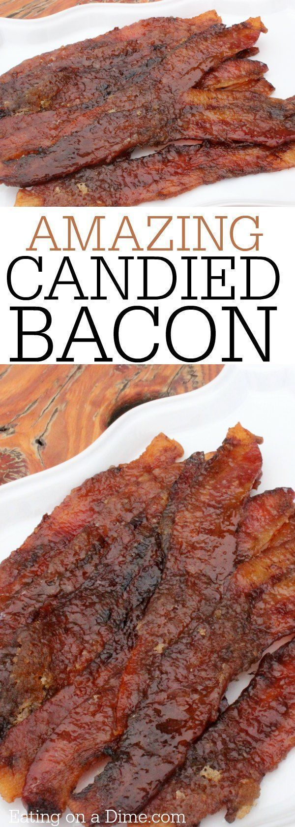 You are going to love this candied bacon recipe. This easy caramelized bacon recipe is a crowd pleaser. Maple bacon is the best recipe.