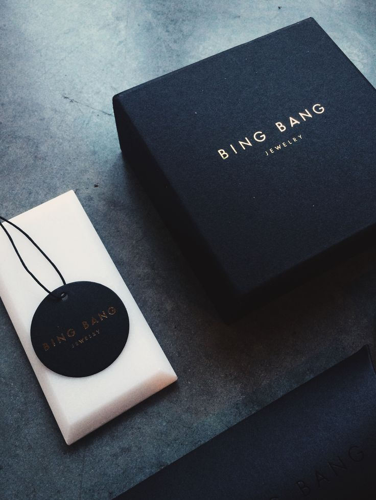 Agatha O | Bing Bang's new look luxe packaging with delicate gold foil detail.