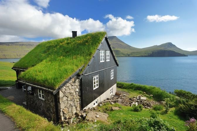 Vága Floghavn, Sørvágur 380, Isole Faroe  (la vera Klimahaus)