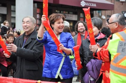 Photos: Politicians swarm Chinese New Year Parade in Vancouver