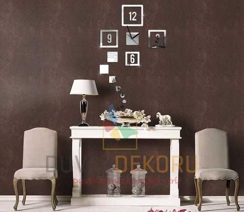 For Every Home U0026 Wall Decoration Wall Clock Mirror + 45x70 Cm