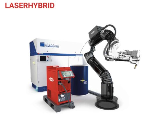#Fronius #LaserHybrid, the #laser-MIG #welding process from Fronius, combines the advantages of the #industrial-scale MIG and laser-beam welding processes, without #inheriting the disadvantages.