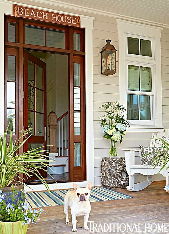Home Front Decor Ideas Part - 43: Elegant Home That Abounds With Beach House Decor Ideas