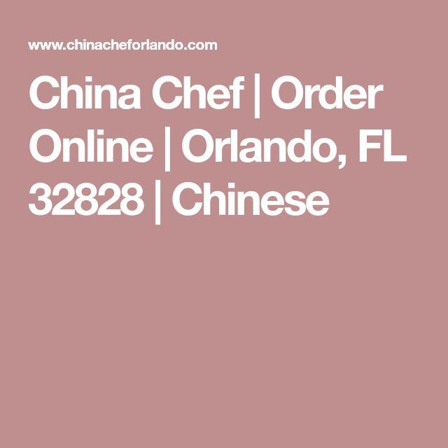 China Chef | Order Online | Orlando, FL 32828 | Chinese