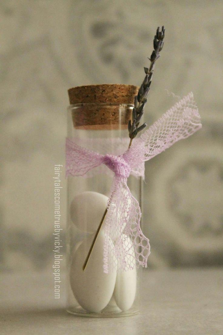 Lavender wedding favor ♡ ιδεα για μπομπονιέρα γάμου με θέμα την λεβάντα