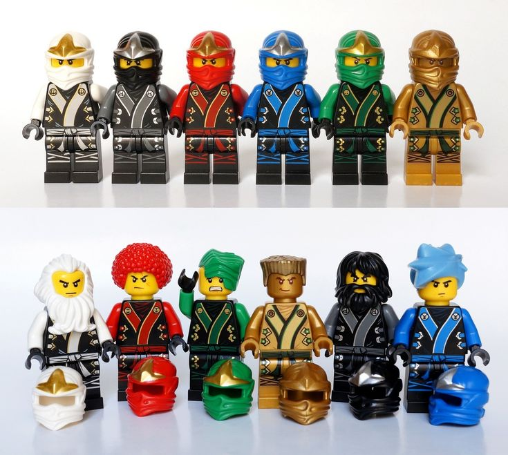 lego ninjago all 5 ninjas of spinjitzu costumes